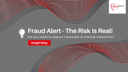 Fraud Alert – The Risk is Real!